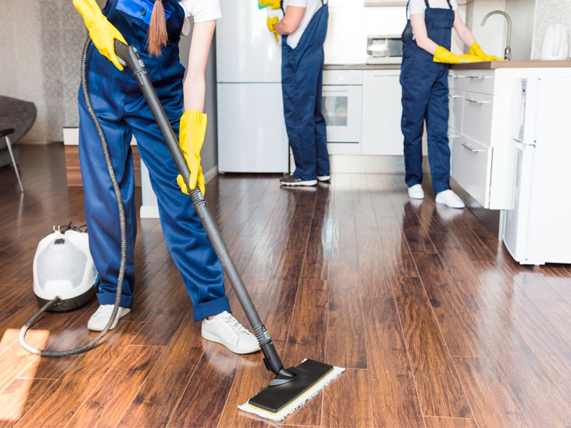 corporate house cleaning